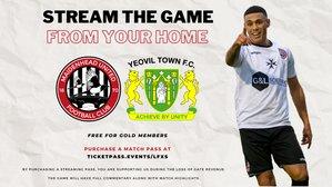 Stream Maidenhead United v Yeovil Town from home
