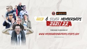Gold and Silver Memberships 2021/22