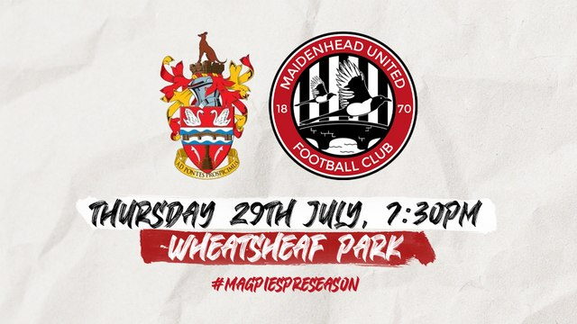Match Arrangements: v Staines Town (A)