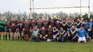 Dads & Sons Game 27th December 2012