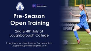 Loughborough Foxes Pre-Season Open Training