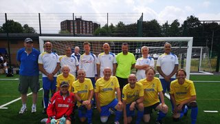 ENFIELD TOWN FC WALKING FOOTBALL TEAM-CHAMPIONS