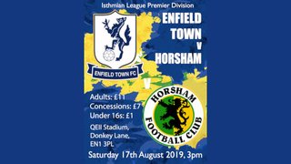 Town face The Hornets at Donkey Lane on Saturday