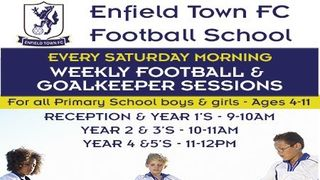 Enfield Town FC Football School - Sign Up For The New Term