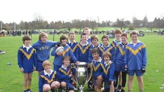 Under 11s at  the Saracens Cup in November 2011