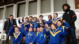 Verulamians U12s at Herts County Festival - 10 March 2013