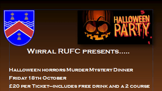 Halloween Events at Wirral RUFC