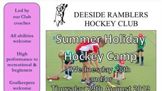 Hockey Camp for 7-15y.o.'s - non-members welcome