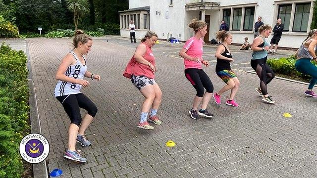Ladies 1s prepare for South League promotion