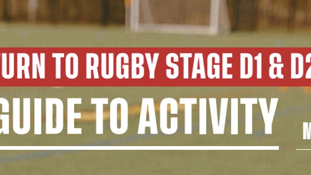 Returning to Rugby Road Map