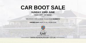 Car Boot Sale - Sunday 23rd June