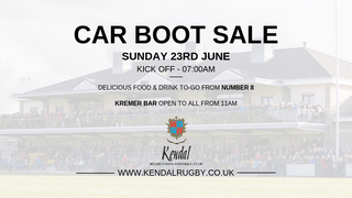 Car Boot Sale - Sunday 23rd June