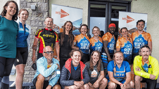 Kendal Rugby Club and Bike the UK for MS – Lending a helping hand!