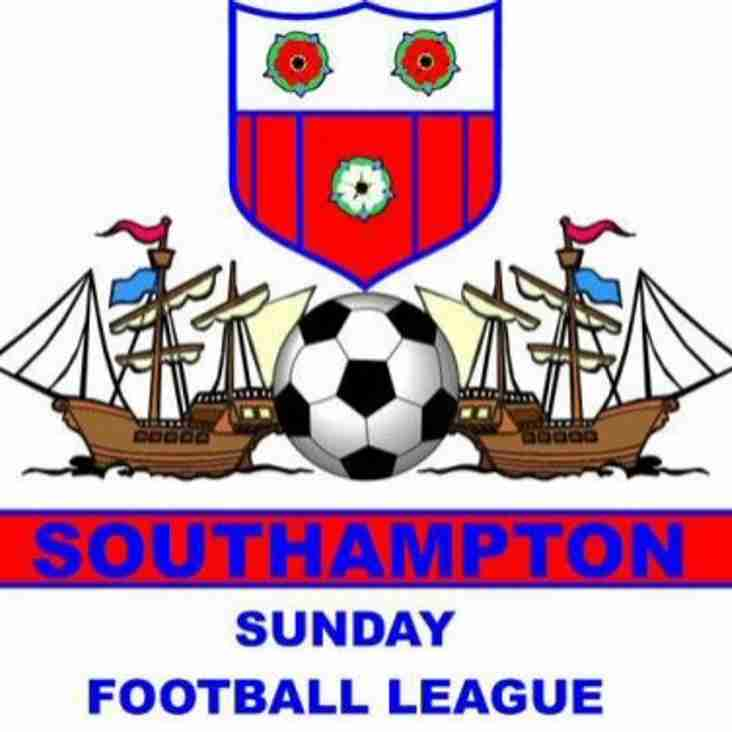 Welcome to the Website of the City of Southampton Sunday Football League