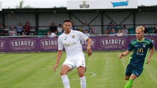 Truro City FC Vs Weston Super-Mare; August 26