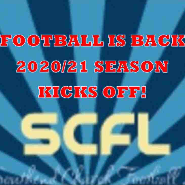 SCFL Football Returns in 2020!