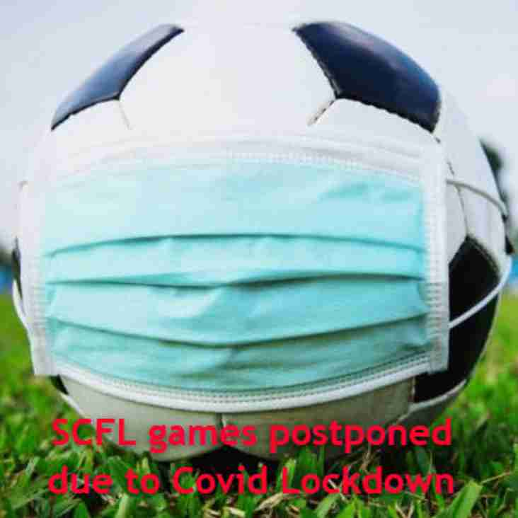 SCFL postpones games following National Lockdown