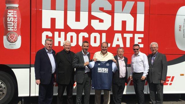 Huski Chocolate become Title Sponsor