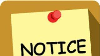 Club notice