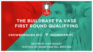 Crowborough In FA Vase action