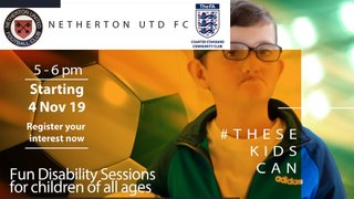 New Disability sessions launched