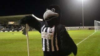 Robbie has fun on FA Trophy replay night - Histon