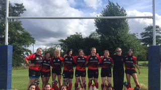 A hard hitting game played in great spirit - Hackney Ladies Vs London Welsh Women (friendly)