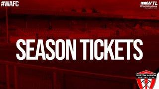 2019/20 season ticket collection information