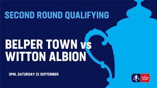 Emirates FA Cup: Belper Town admission information