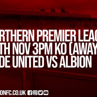 Albion pick up point on the road at Hyde