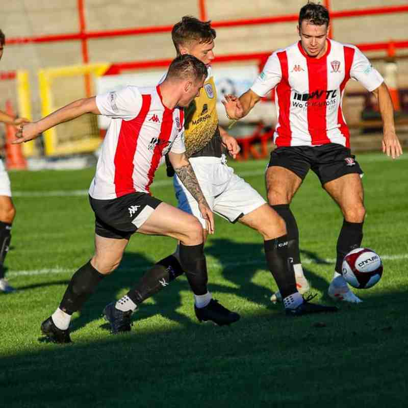 Witton Albion vs Crewe Alexandra 18/8/20 - by Karl Brooks Photography