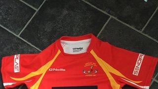 U15 Girls New Shirts Have Arrived!
