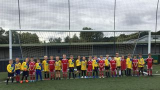 AFC Sudbury Mini Kickers Vs Haverhill