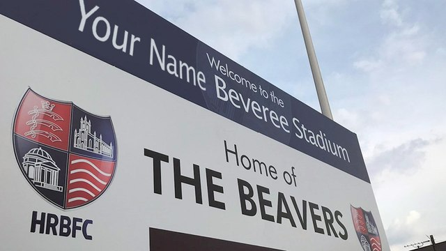 YOUR NAME ON THE BEVEREE STADIUM PRIZE DRAW