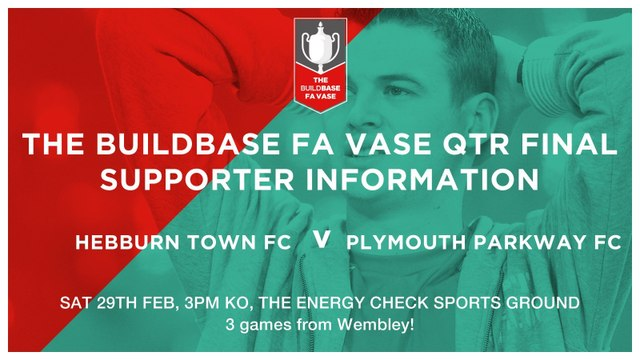 Important Supporter Information ahead of huge Vase game