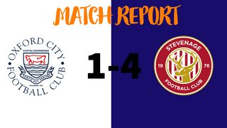 MATCH REPORT: Oxford City Women 1-4 Stevenage Women