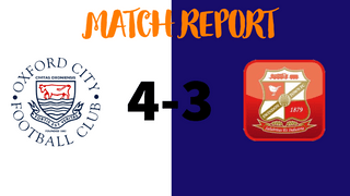MATCH REPORT: Oxford City Women 4-3 Swindon Town Women