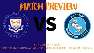 SRWFLP - Oxford City Women VS Wycombe Wanderers Ladies