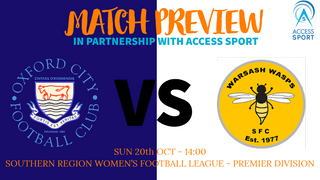 SRWFLP - Oxford City Women vs Warsash Wasps Women