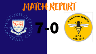 MATCH REPORT: Oxford City Women 7-0 Warsash Wasps Women