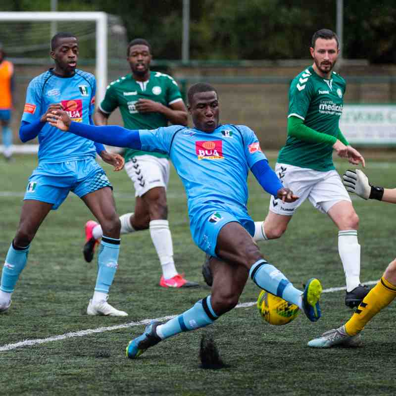 Whyteleafe League game 10/10/20 photos Dave Cumberbatch