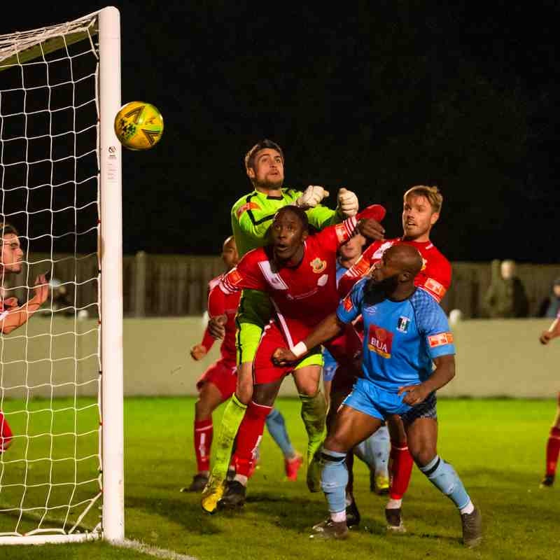 Whitstable Town v Millers 27/10/20 photos Dave Cumberbatch