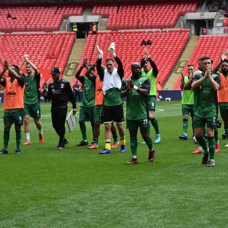 FA Vase Final May 2019 Wembley photos by Alan Coombes