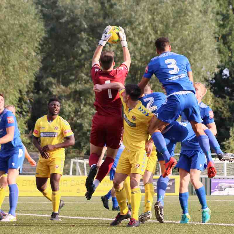 FA Trophy AFC Sudbury v Millers 9/10/21 photos Brownie Sports Photography