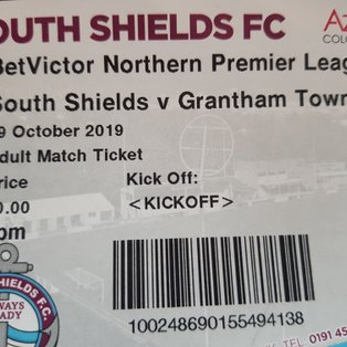 South Shields 1 Grantham Town 1