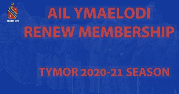 Ail Ymaelodi/Membership Renewal 2020-21