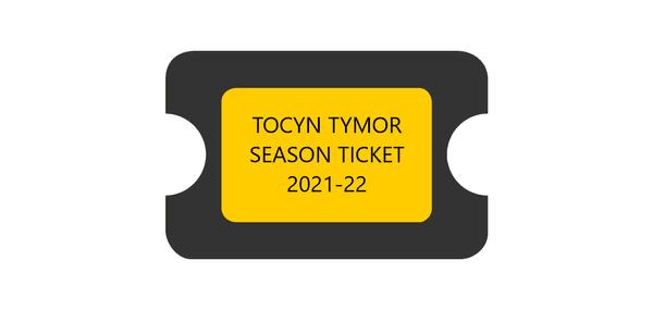 TOCYN TYMOR 2021-22 / SEASON TICKET 2021-22
