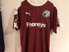 Rooney's for Recyling confirmed as away shirt sponsor