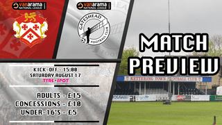 MATCH PREVIEW: Kettering Town vs Gateshead