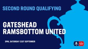 Gateshead to face Ramsbottom United in Emirates FA Cup clash
